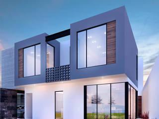 Residencia SZ [León, Gto.] 3C Arquitectos S.A. de C.V. Casas modernas
