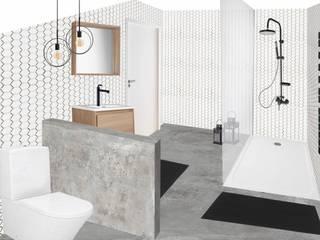 Prendre de la hauteur Salle de bain originale par SUR MESURE Éclectique