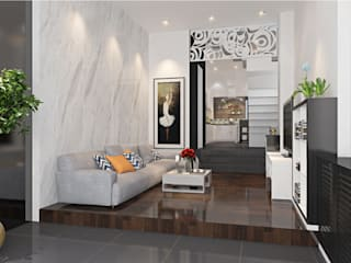 Livings de estilo moderno de Công ty TNHH Xây Dựng TM – DV Song Phát Moderno