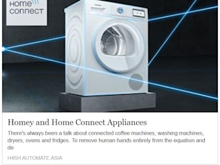 Homey and Home Connect for Bosch Appliances:  Kitchen units by Automate Asia Pte Ltd