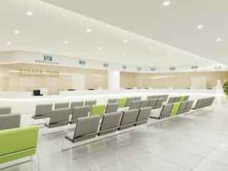 경기도 이천병원 인테리어(Gyeonggi Provincial Medical Center at Icheon): 위아카이(wearekai)의  병원