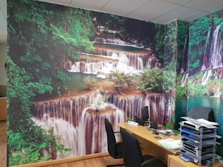 :  Study/office by Custom Art Framing (Pty) ltd,