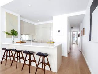 77 Warren Street | Kitchen: Cucina attrezzata in stile  di GD Arredamenti