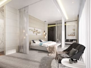 Modern style bedroom by Dessiner Interior Architectural Modern