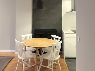 Reforma integral de un piso de 45m2 en Deusto: Comedores de estilo  de Muka Design Lab