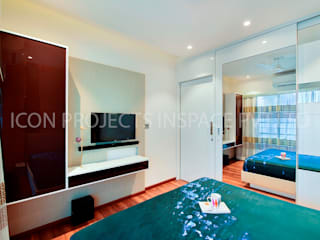 2Bhk Residence -1:  Bedroom by icon projects inspace pvt ltd