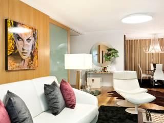 Sala de Estar: Salas de estar  por EMME Atelier de Interiores