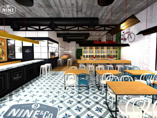 Muka Design Lab Industriale Bars & Clubs