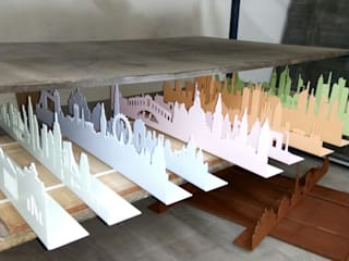 SKYLINES DE COLORES EN EL TALLER de SKYLINES OF THE WORLD Escandinavo