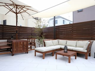 Asian style garden by 株式会社 風知蒼 Asian