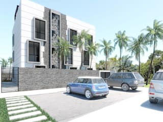 Terrace house by Taller Veinte,