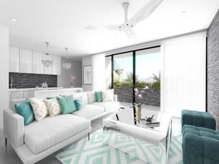 Living room by Taller Veinte,