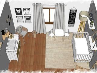 PROYECTO B: Dormitorios infantiles de estilo  por JACH