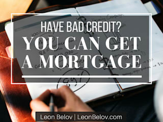 How to get a mortgage even if you have bad credit. :  Houses by Leon Belov | The Lending Group Co