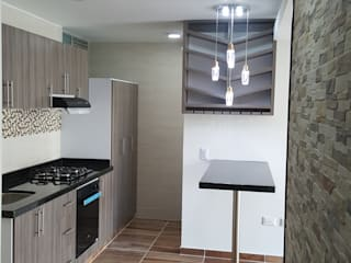Built-in kitchens by LH INGENIERÍA 'Construcciones para la Vida', Modern