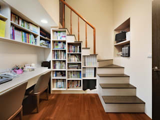 築室室內設計 Oficinas y bibliotecas de estilo moderno