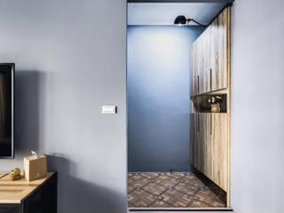 ミニマルデザインの リビング の 築室室內設計 ミニマル