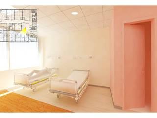 원광대학교 산본 병원 병동 리모델링(Remodeling Wonkang Sanbon Univ. Hospital Ward): 위아카이(wearekai)의  병원