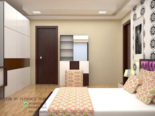 Residential project Classic style bedroom by Florence Management Services Classic