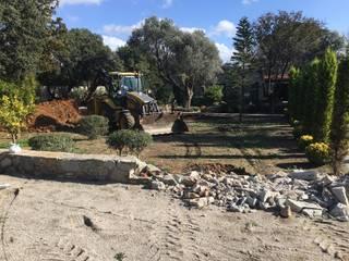 Sıdar Pool&Dome Yüzme Havuzları ve Şişme Kapamalar – Bitez Villa Havuzu:  tarz Bahçe havuzu