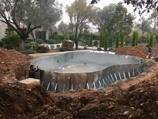 by Sıdar Pool&Dome Yüzme Havuzları ve Şişme Kapamalar 컨트리 철 / 철강