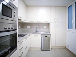 Grupo Inventia Cocinas equipadas Compuestos de madera y plástico Beige