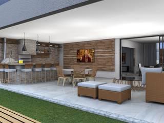 Residência Unifamiliar:   por Lb arquitetura e Design