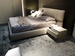 Room Suite Alpha Details Quartos modernos Bege