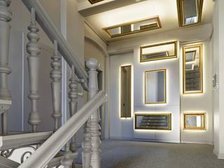 CUDKLATKA - Modernizacja klatki schodowej XIX-wiecznej kamienicy przy ul Kościuszki 30 w Gliwicach: styl , w kategorii  zaprojektowany przez Zalewski Architecture Group