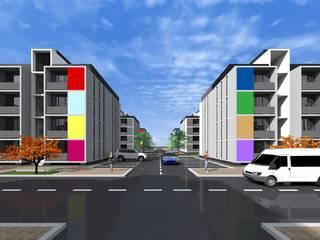 Residential Buildings for India por KILONEWTON - CONSULTORES DE ENGENHARIA LDA