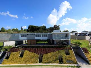 BR HOUSE Casas modernas por Hernandez Silva Arquitectos Moderno