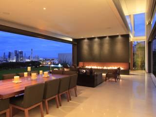 BR HOUSE Hernandez Silva Arquitectos Living room