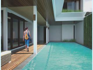 Swimming Pool // Senor Villa:  Kolam Renang by Lukemala Creative Studio