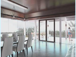 Dining Area // Senor Villa:  Ruang Makan by Lukemala Creative Studio