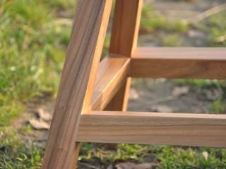 Stolik nocny dębowe nogi : styl , w kategorii  zaprojektowany przez ACOCO DESIGN