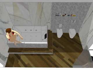 i Bagni di Mario...:  in stile  di TheWorkInProgress Studio Interior Design