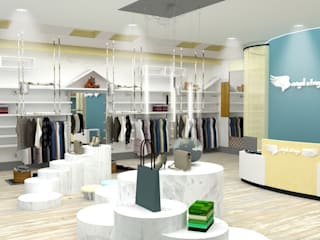 Industrial style dressing rooms by Yunhee Choe Industrial