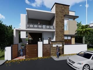 by Cfolios Design And Construction Solutions Pvt Ltd Сучасний