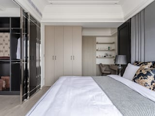 Minimalist bedroom by E&C創意設計有限公司 Minimalist