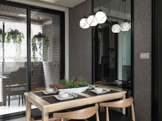 Modern dining room by SY Lam Modern