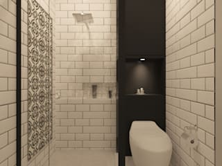 Modern bathroom by Noff Design Modern