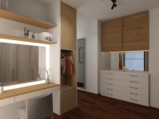 Modern dressing room by Noff Design Modern
