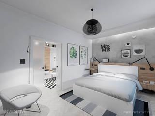 Industrial style bedroom by INVENTIVE studio Industrial