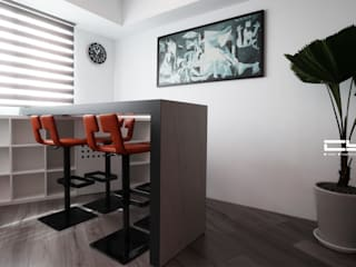 Living room by 臣月空間工程, Minimalist