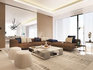 Modern living room by Dessiner Interior Architectural Modern