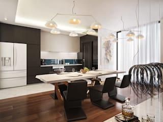 Modern kitchen by Dessiner Interior Architectural Modern