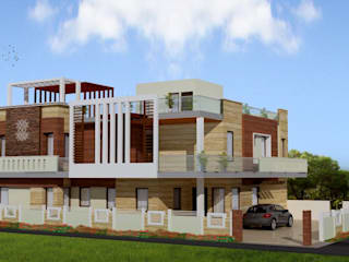 Houses by Kapilaz Space Planners & Interior Designer