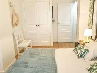 Alojamento Local em Monte Gordo - Algarve: Quartos tropicais por Tezturas • Arquitectura e Decoração de Interiores