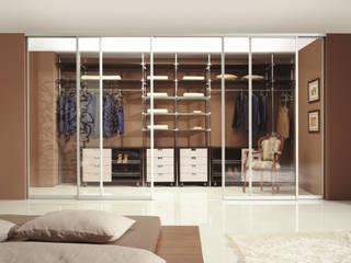 CARE MOBILIARIO MADRID,S.L. Modern Yatak Odası Cam Şeffaf