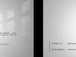visiting card by omkarcreateurs